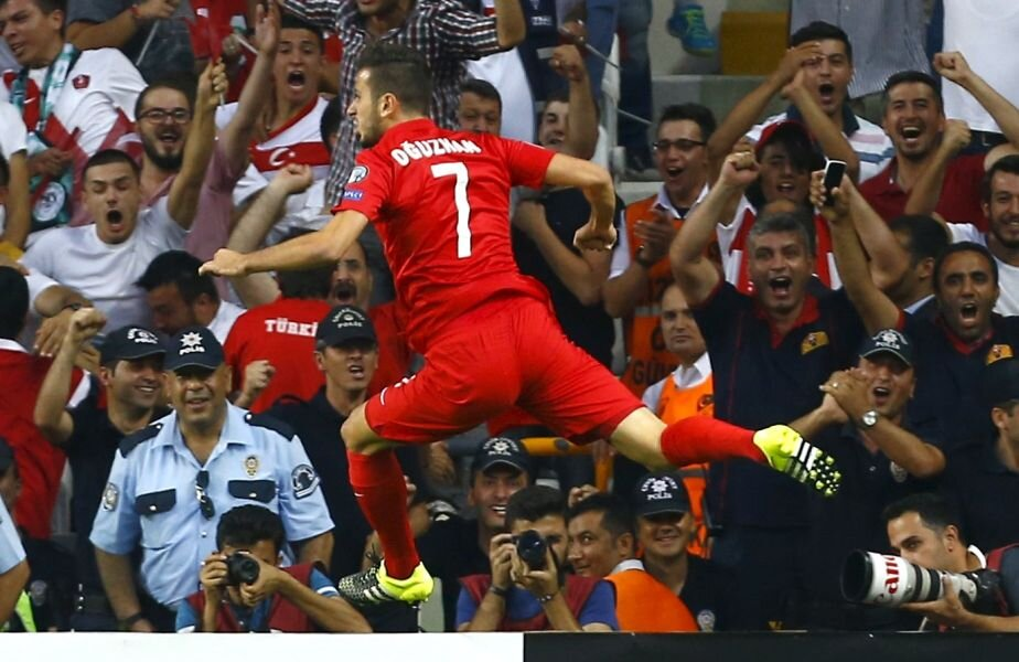 Oguzhan a înscris aseară primul său gol la