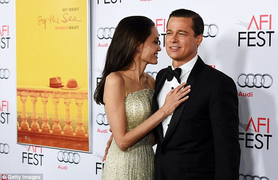 Angelina Jolie & Brad Pitt ► Foto: dailymail.co.uk