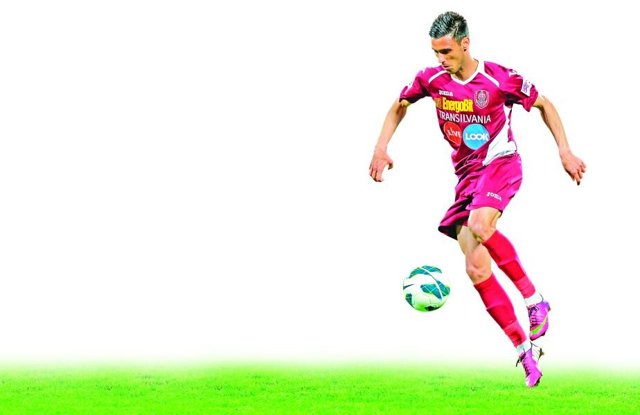 Camora mai are un an și jumătate contract cu CFR Cluj