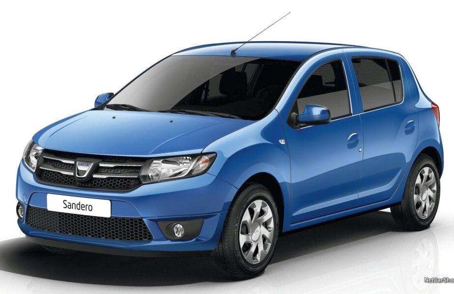 Dacia Sandero se află pe locul 9 în topul celor mai vîndute modele de pe piața franceză