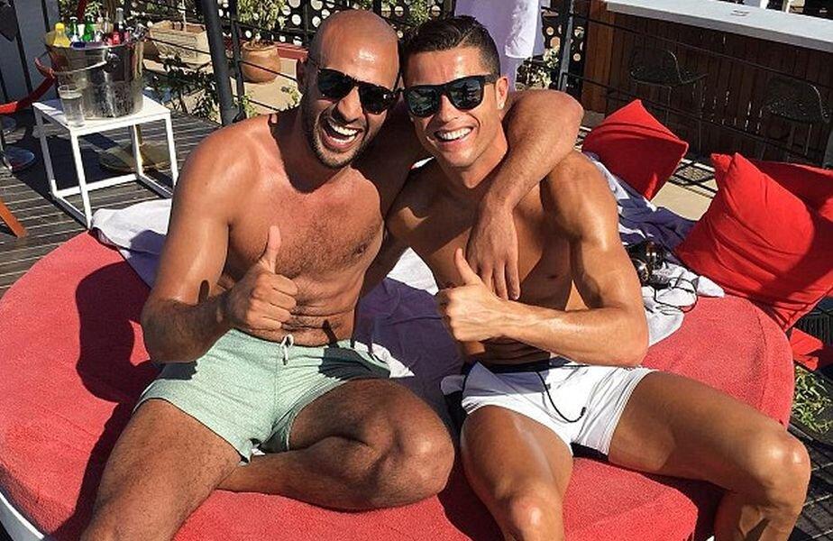 Ronaldo și bunul său amic Badr Hari se vor vedea mai rar în 2016