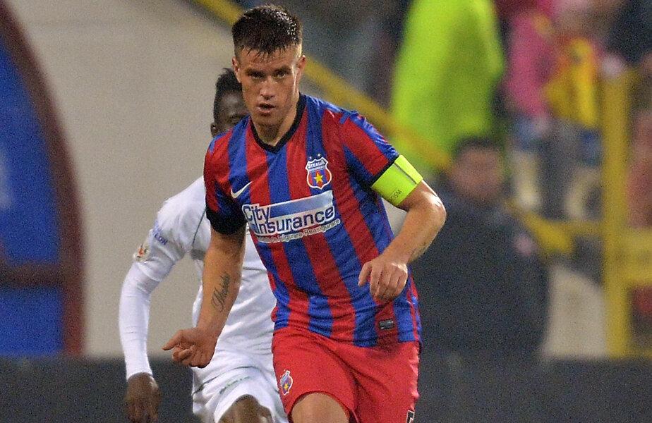 Pintilii a revenit la Steaua după 6 luni la Hapoel Tel Aviv, timp în care a jucat 12 meciuri