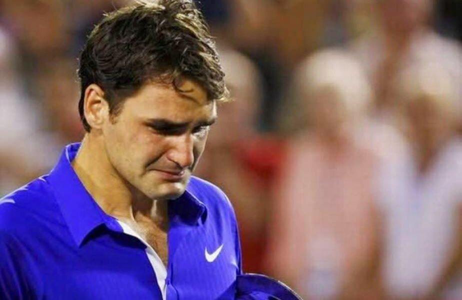 În 2009, după finala cu Nadal, Federer nu și-a putut stăpîni lacrimile