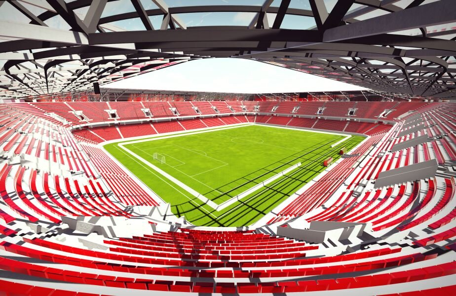 Proiectul arată bine, se așteaptă investițiile statului pentru a se ridica arena