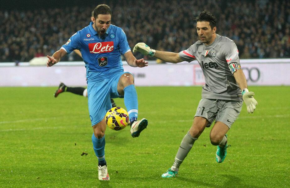 Higuain îl va pune iar la încercare pe Buffon la Torino, în derbyul-scudetto de sîmbătă (21:45, Digi 2)