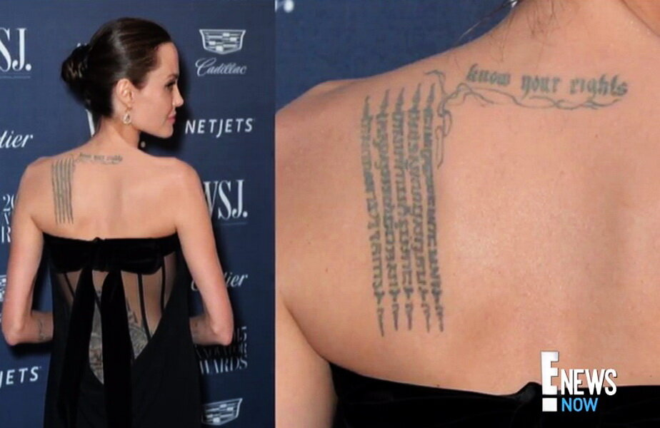 Angelina Jolie ► Foto: youtube.com