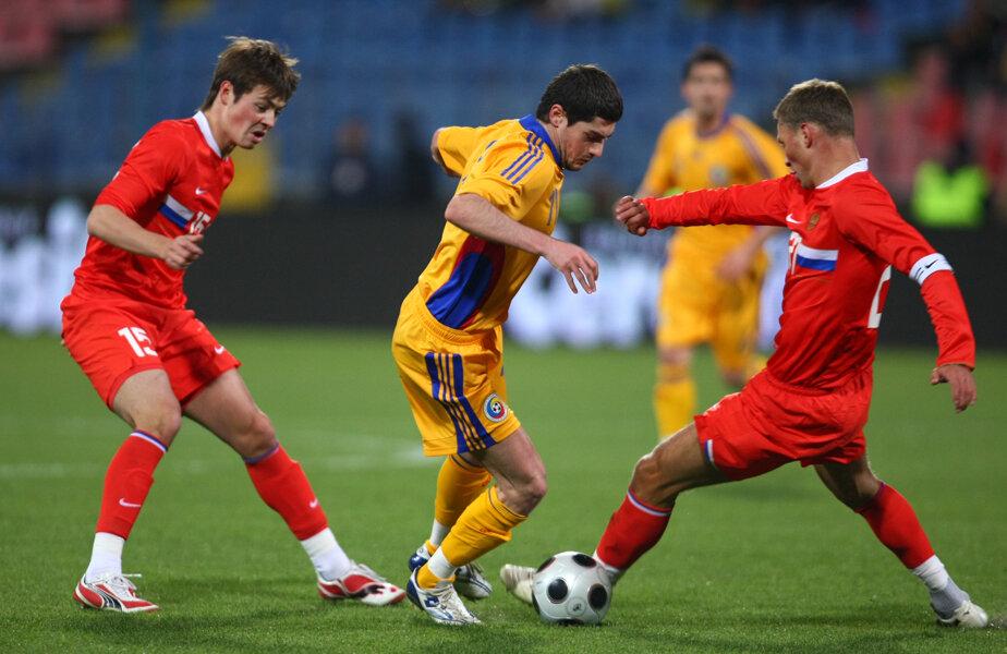 Înainte Euro 2008, am spulberat Rusia, 3-0, la București