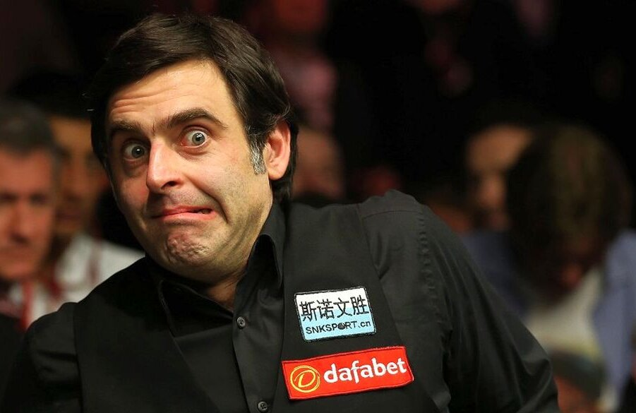 Ronnie O'Sullivan, foto: eveningexpress.co.uk