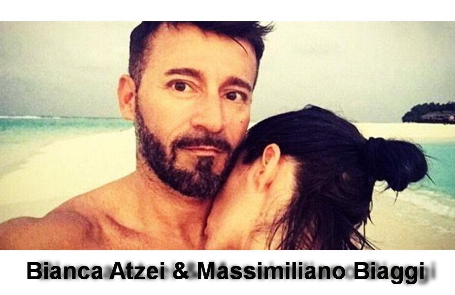 Bianca Atzei & Massimiliano Biaggi ► Foto: si24.it