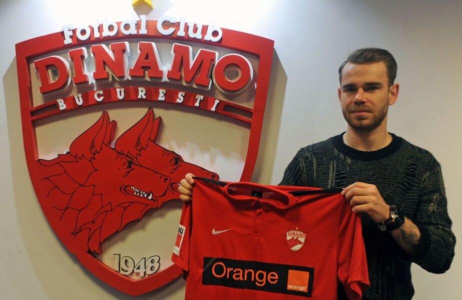 Bicfalvi a fost prezentat la Dinamo pe 18 februarie
