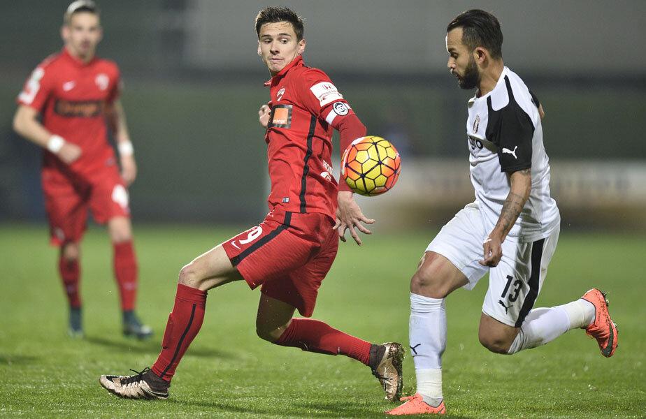Rotariu (stânga) a marcat 6 goluri în acest sezon