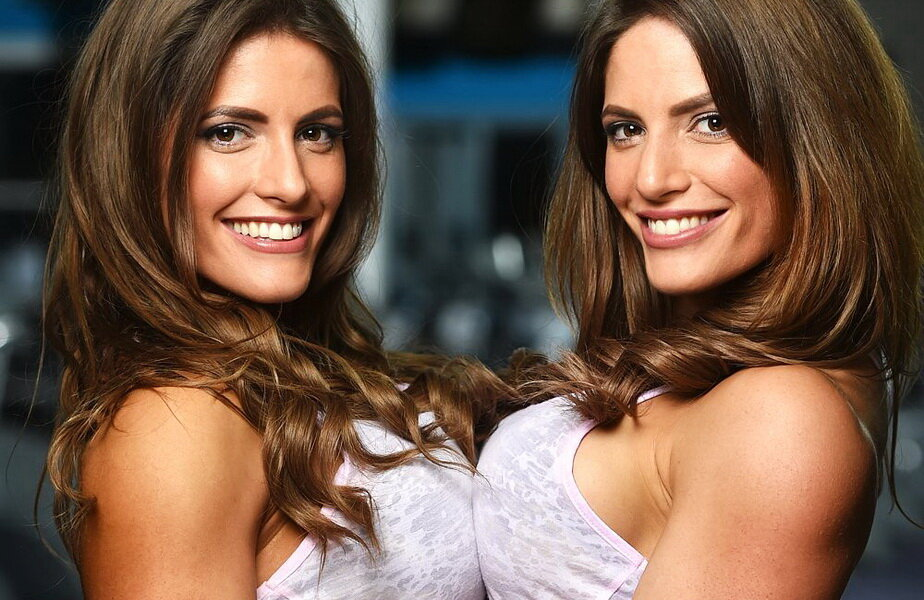 Două surori gemene fac ravagii pe internet! ► Foto: thesun.co.uk