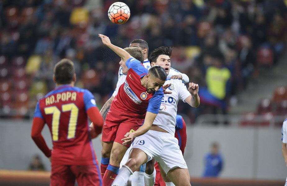 În sezonul regular, Steaua a învins Pandurii la Severin, 3-0, apoi cele două formații au remizat, 1-1, la București