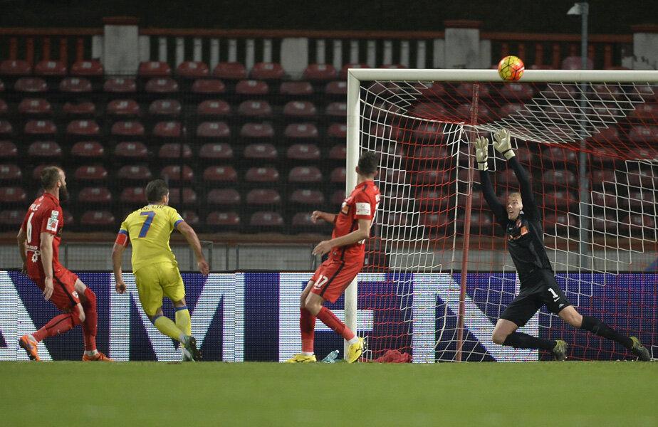 Chipciu a jucat foarte prost și aseară, ratând incredibil în minutul 43 // FOTO Alex Nicodim