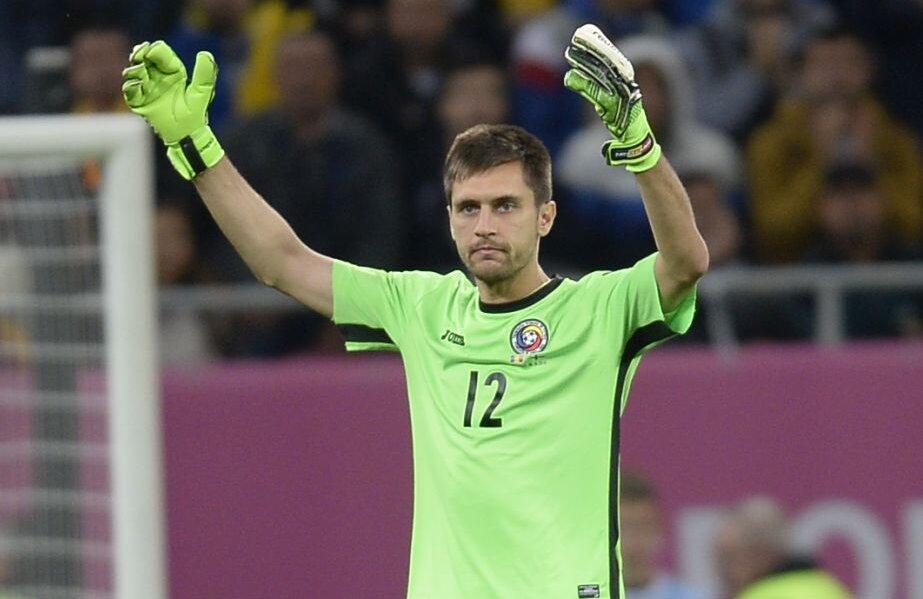 Tătărușanu, 30 de ani, a debutat în națională în 2010.
