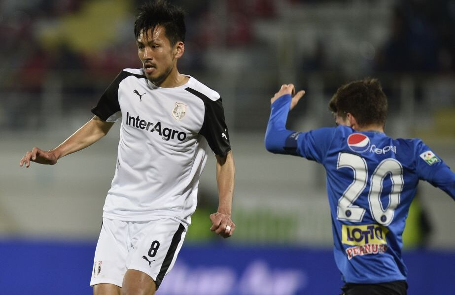 Două trofee are în palmares Takayuki cu Astra, Cupa României și Supercupa