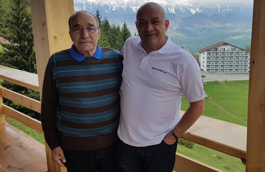 Fiul şi tatăl sunt umăr lângă umăr şi după 30 de ani de la momentul serii magice de la Sevilla