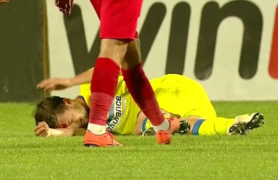 Râpă, plin de sânge după cotul lui Ciolacu