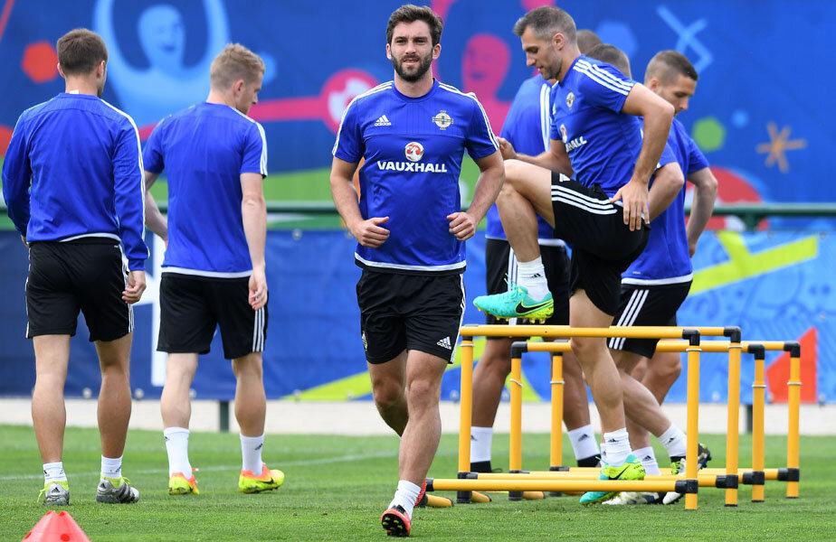 Will Grigg, Euro 2016 doar la antrenament // FOTO Guliver/GettyImages