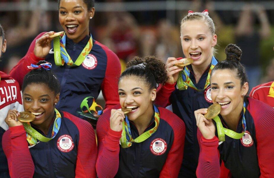 Douglas, Kocian Biles, Hernandez, Raisman au gustat din medalii // FOTO Reuters