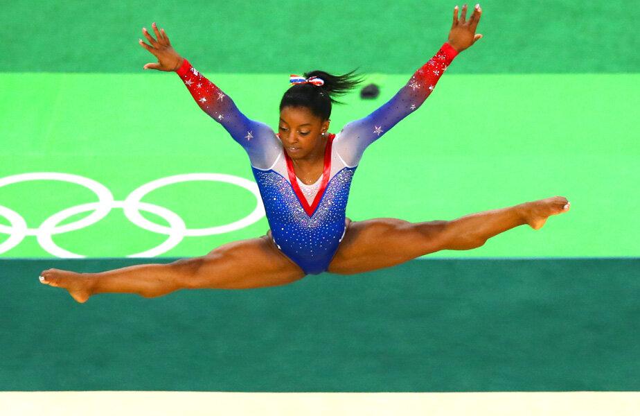 Americanca și-a trecut deja numele în istoria gimnasticii olimpice // FOTO Guliver/GettyImages