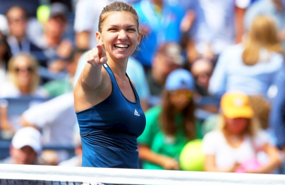 Simona Halep vs Serena Williams în sferturile de finală de la US Open 2016, foto: reuters