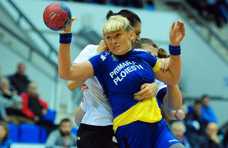Pivotul Irina Șuțka Burtea este componentă a naționalei Ucrainei și juca din 2014 la Ploiești // FOTO MediafaxFoto
