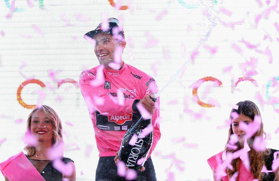 Tricoul roz se acordă câștigătorului din Turul Italiei, foto: Gulliver/gettyimages.com