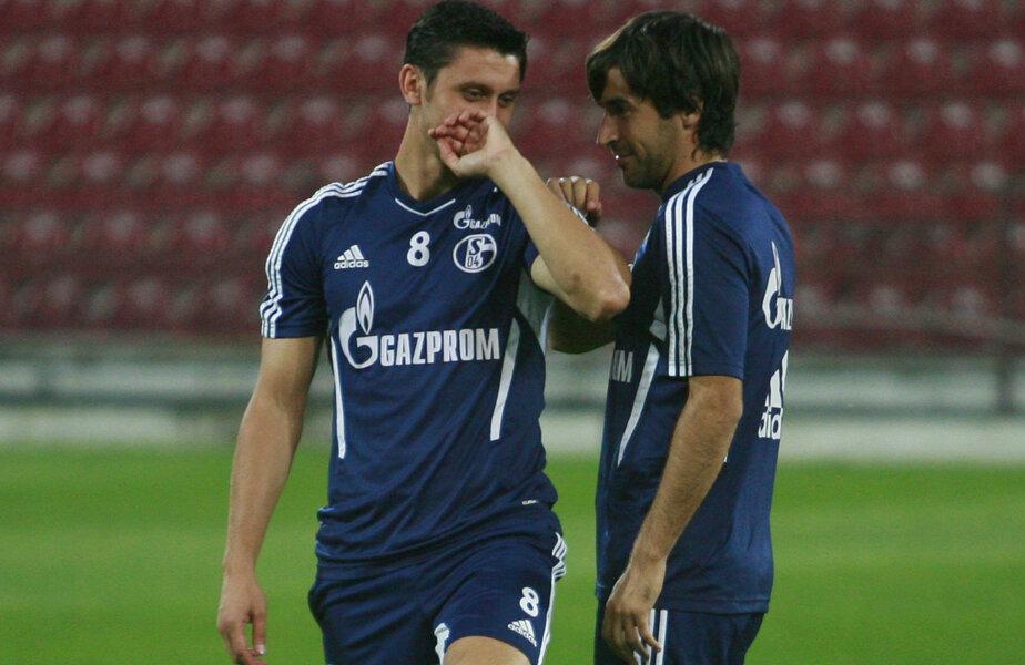 Marica și Raul au fost colegi la Schalke în sezonul 2011-2012