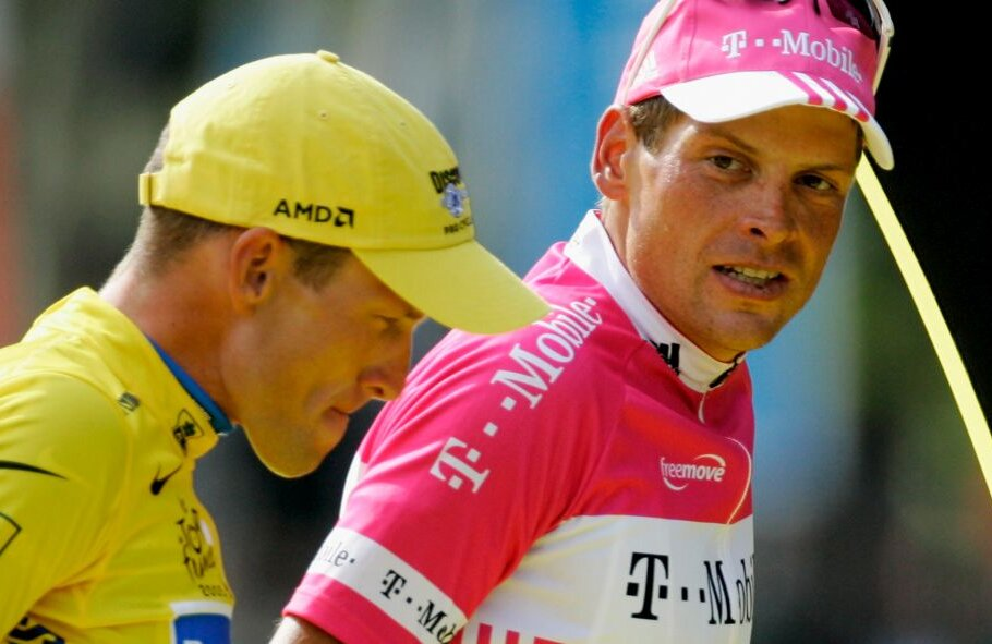 Lance Armstrong și Jan Ullrich, foto: Gulliver/gettyimages