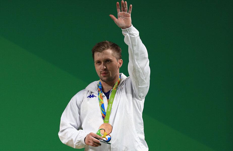 Gabriel Sîncrăian și medalia pe care trebuie s-o înapoieze // FOTO Guliver/GettyImages