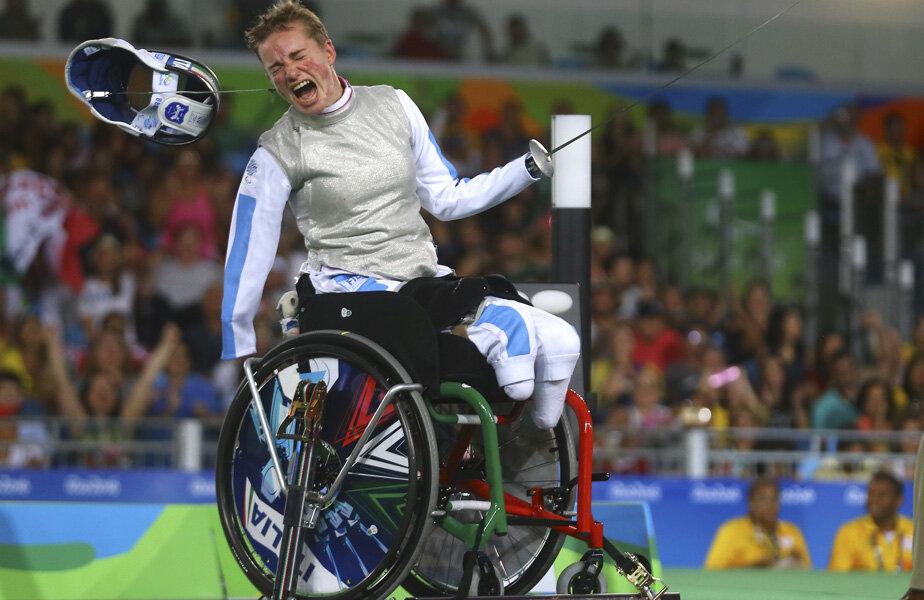 Beatrice Vio și momentul victoriei de la Rio