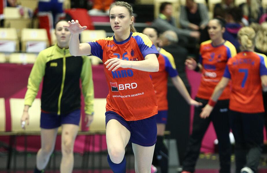 Ana Maria Tănasie are 21 de ani și a debutat la naționala României la Mondialul din 2015, acolo unde a cucerit medalia de bronz // FOTO Cristi Preda