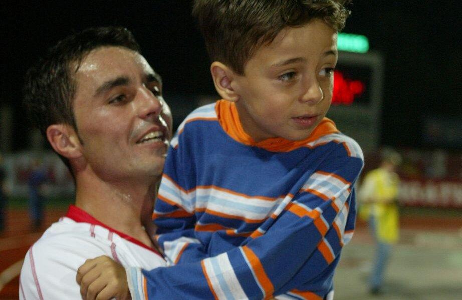 Florentin înscrisese în poarta roș-albaștrilor la 24 de ani: