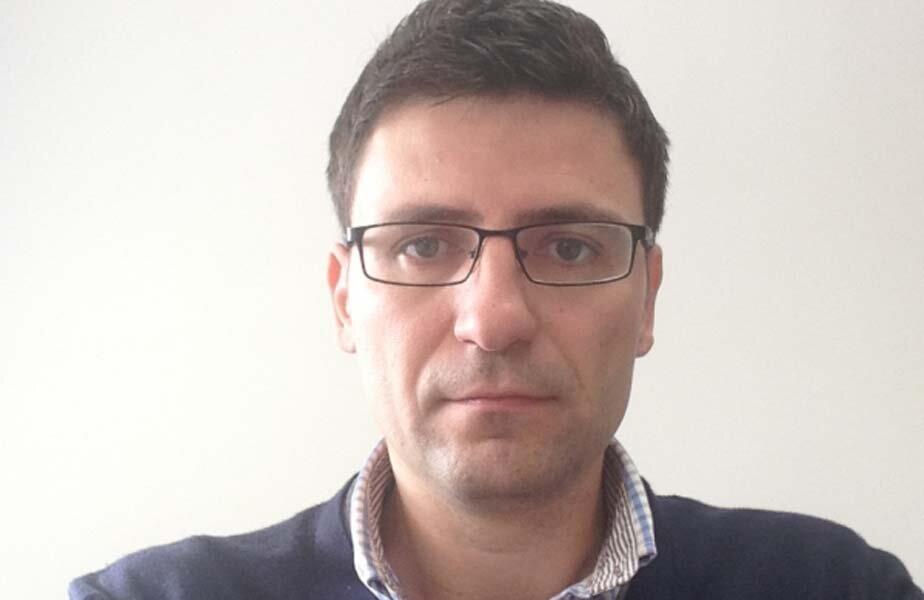 Vicepreședintele Florin Păcuraru îl combate pe Martin Stoev // FOTO Sportul sălăjean