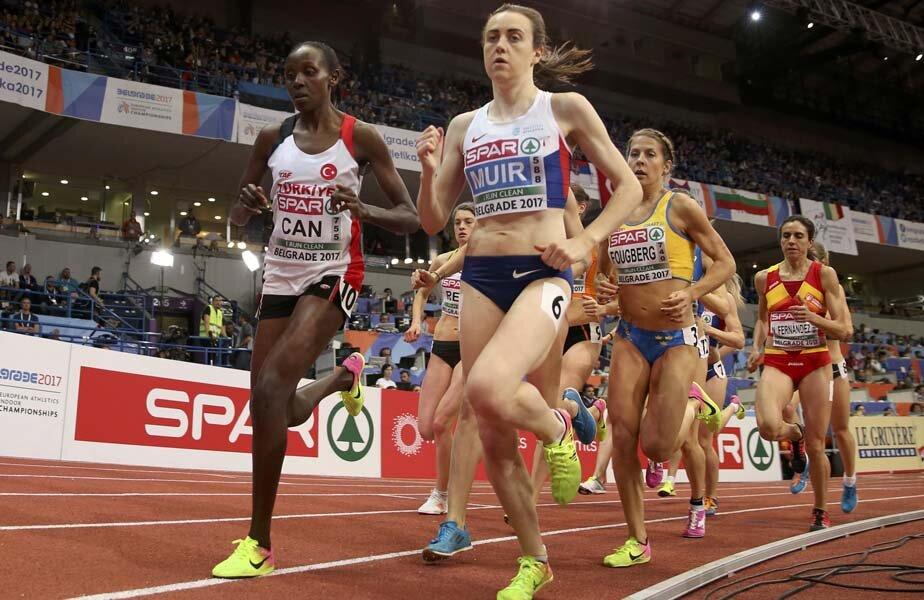 Proba de 3.000 m, singura cu o româncă în finală, i-a revenit britanicei Laura Muir // FOTO Reuters