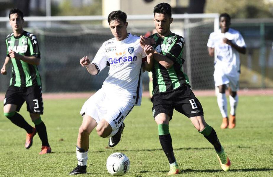 Marius Marin (dreapta) are 24 de meciuri jucate în acest sezon la Primavera B, Coppa Primavera și Viareggio