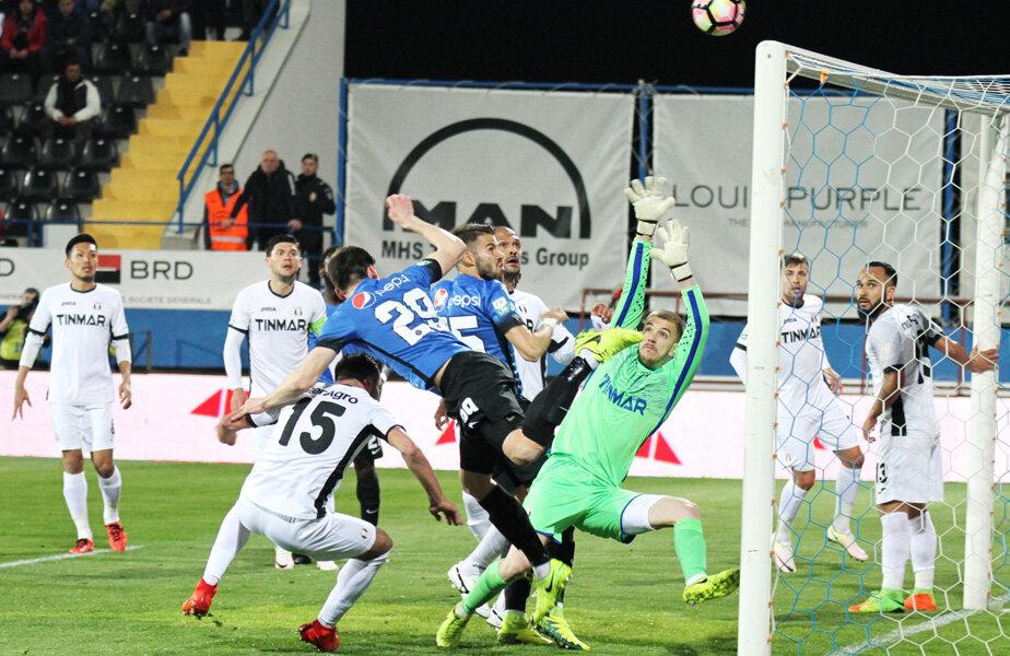 Astra a scos-o din nou pe Viitorul din sferturile Cupei României, după ce în 2013 câștigase cu 3-0 // FOTO sportpictures.eu
