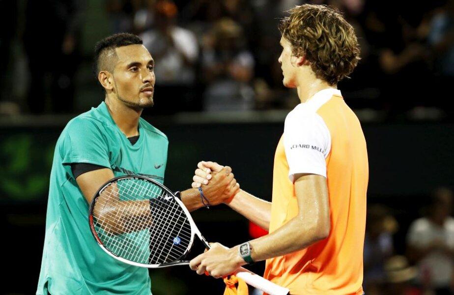 Viitorul tenisului. Australianul Nick Kyrgios și neamțul Alexander