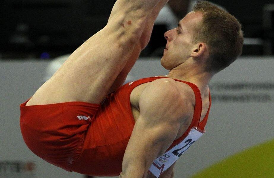 Flavius Koczi la aparatul care i-a adus titlul european în 2011 la Berlin // FOTO Reuters