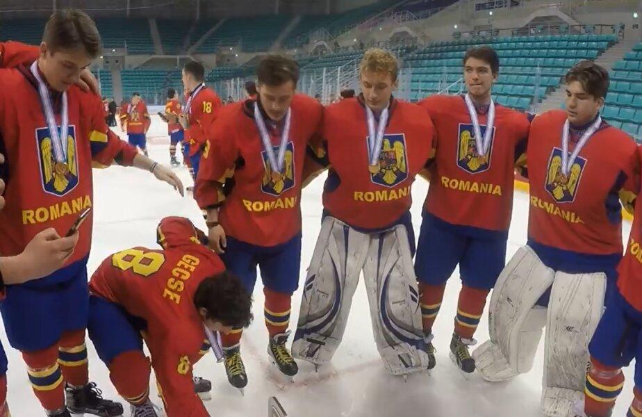 Jucătorii României, pregătiți să cânte imnul secuiesc