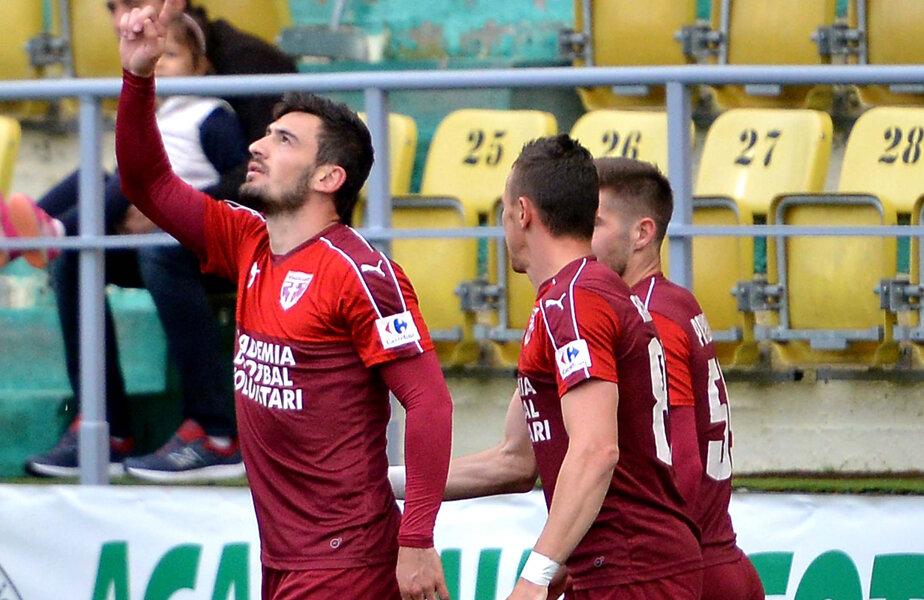 Adrian Bălan a ajuns la cota 9 în clasamentul golgeterilor
