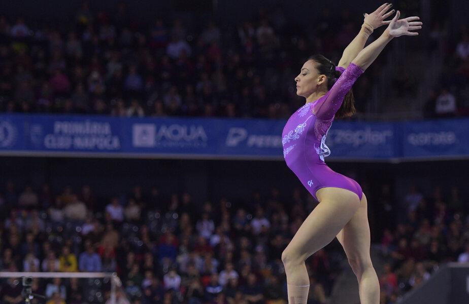 Cătălina Ponor are 12 medalii la Campionatele Europene.