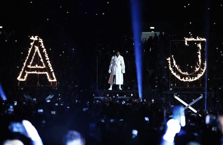 Kliciko, KO pe Wembley! Anthony Joshua l-a învins în fața a 90.000 de spectatori Foto: Reuters