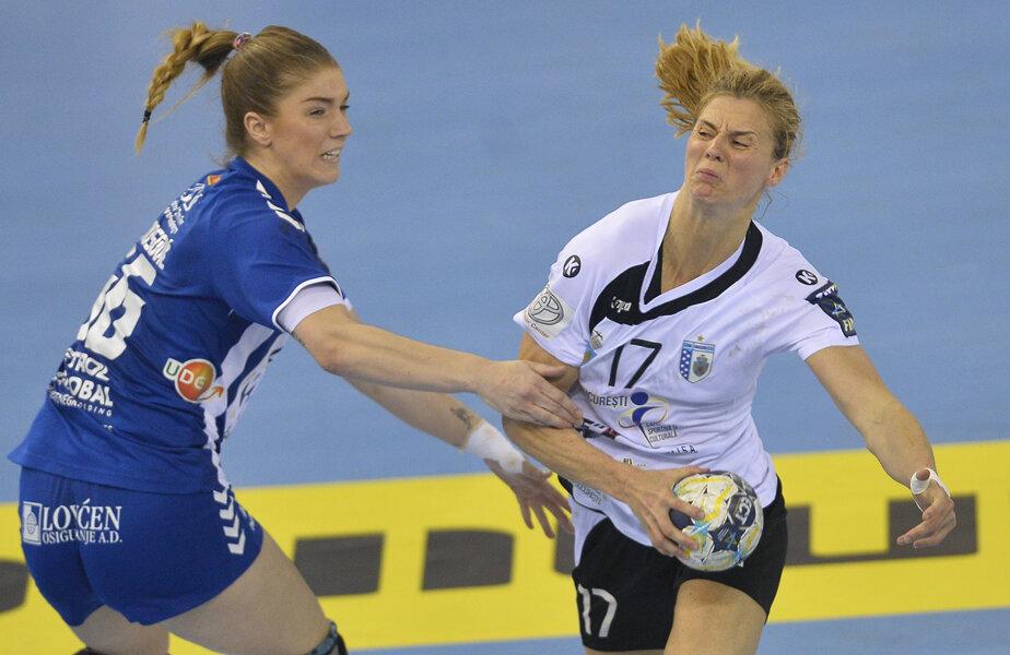 Linnea Torstensson a marcat un gol aseară, ultimul al ei pentru CSM