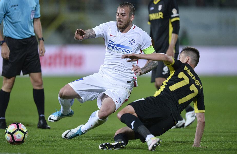 Alibec are 6 goluri și trei pase de gol reușite în tricoul FCSB, în Liga 1