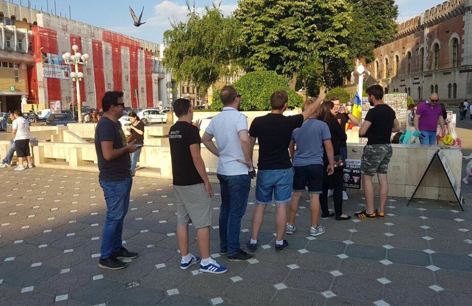 Coadă de bilete în Timișoara / Foto Facebook Politehnica Timișoara
