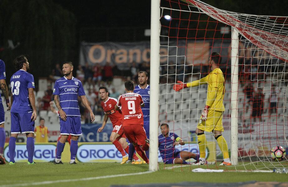În campionat, Dinamo a bătut de două ori pe ACS Poli, cu același scor, 2-1