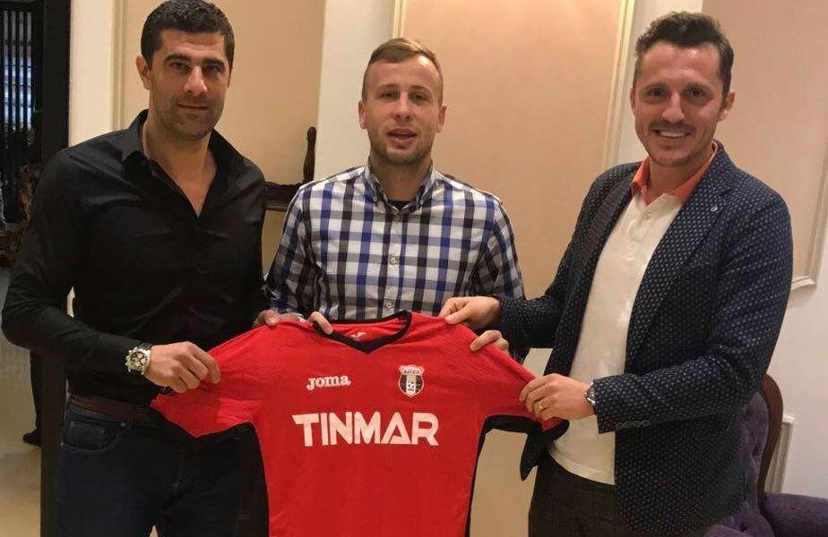 Mrzljak a pozat azi cu tricoul Astrei, alături de Dani Coman și Bogdan Apostu