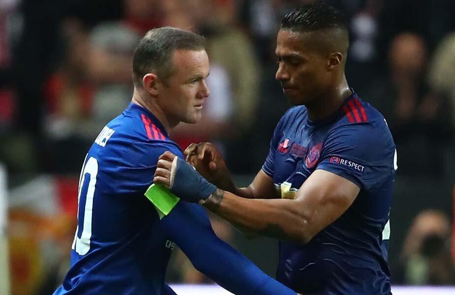 Finala Europa League. Rooney intră în minutul 90, Valencia îi cedează banderola